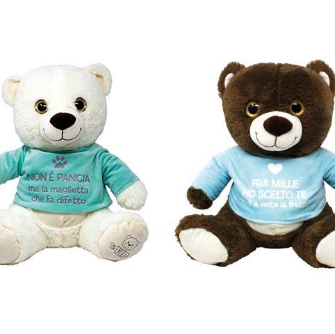 Babybear 40 cm con t-shirt
